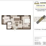 Apartamente de vanzare Burnitei Residential -2 camere tip A'
