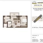 Apartamente de vanzare Burnitei Residential -2 camere tip A
