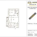 Apartamente de vanzare Ilioara Villa Apartments 2 -2 camere tip A