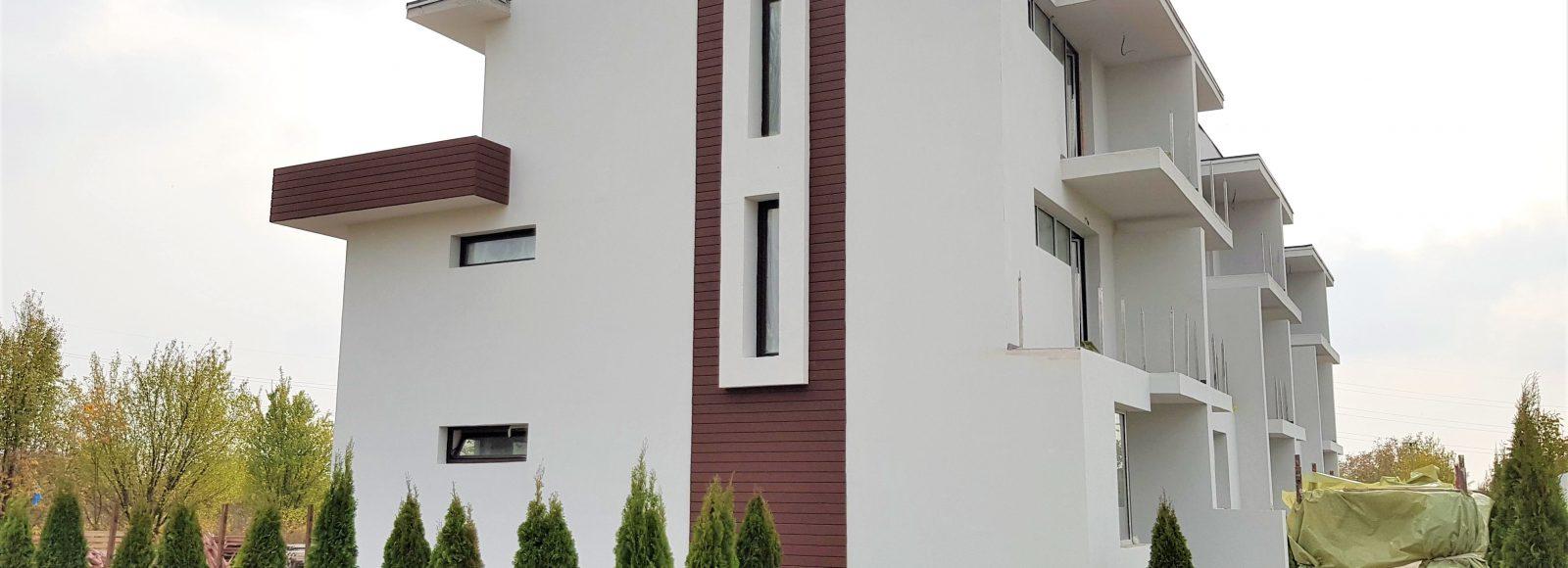 case noi Popesti Sunset Villas vedere laterala