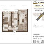 Apartamente de vanzare Dristor Residential 2 -2 camere tip F-v