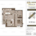 Apartamente de vanzare Dristor Residential 4 - 2 camere tip E+v