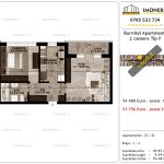 Apartamente de vanzare Pallady - Burnitei Apartments -2 camere tip F-v