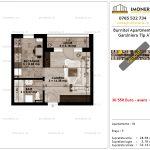 Apartamente de vanzare Pallady - Burnitei Apartments -Garsoniera tip A'-v
