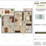 Apartamente de vanzare Pallady - Romco Rezidential - 2 camere tip 1