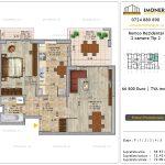 Apartamente de vanzare Pallady - Romco Rezidential - 2 camere tip 2