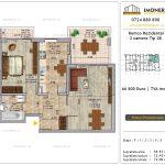 Apartamente de vanzare Pallady - Romco Rezidential - 2 camere tip 2b