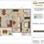 Apartamente de vanzare Pallady - Romco Rezidential - 2 camere tip 4