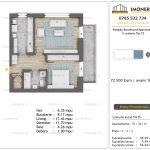 Apartamente de vanzare Pallady Boulevard Apartments -2 camere tip C3