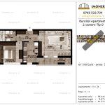 Apartamente de vanzare Pallady - Burnitei Apartments -2 camere tip D