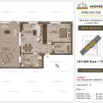 Apartamente de vanzare Mihai Bravu Residence 12 - 2 camere tip A-v