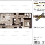 Apartamente de vanzare Pallady - Burnitei Apartments -2 camere tip C-v