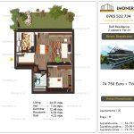 Apartamente de vanzare Titan - Dall Residence - 2 camere tip D+
