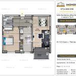 Apartamente de vanzare Vitan - Sofia Residence Mihai Bravu -2 camere tip B