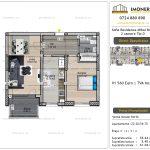 Apartamente de vanzare Vitan - Sofia Residence Mihai Bravu -2 camere tip D