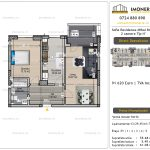 Apartamente de vanzare Vitan - Sofia Residence Mihai Bravu -2 camere tip H'
