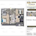 Apartamente de vanzare Vitan - Sofia Residence Mihai Bravu -2 camere tip J