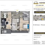 Apartamente de vanzare Vitan - Sofia Residence Mihai Bravu -2 camere tip K
