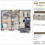 Apartamente de vanzare Vitan - Sofia Residence Mihai Bravu -2 camere tip L