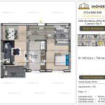 Apartamente de vanzare Vitan - Sofia Residence Mihai Bravu -2 camere tip N
