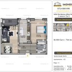 Apartamente de vanzare Vitan - Sofia Residence Mihai Bravu -2 camere tip O