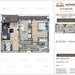 Apartamente de vanzare Vitan - Sofia Residence Mihai Bravu -2 camere tip P'