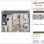 Apartamente de vanzare Vitan - Sofia Residence Mihai Bravu -2 camere tip Q