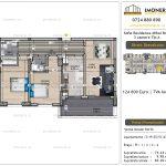 Apartamente de vanzare Vitan - Sofia Residence Mihai Bravu -3 camere tip A