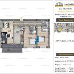 Apartamente de vanzare Vitan - Sofia Residence Mihai Bravu -3 camere tip B