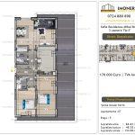 Apartamente de vanzare Vitan - Sofia Residence Mihai Bravu -3 camere tip E'
