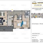 Apartamente de vanzare Vitan - Sofia Residence Mihai Bravu -3 camere tip J