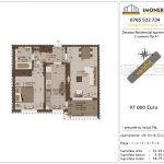 Apartamente de vanzare Decebal Residential Apartments -2 camere tip A1-v