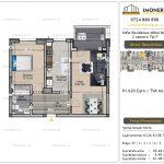Apartamente de vanzare Vitan - Sofia Residence Mihai Bravu -2 camere tip F'
