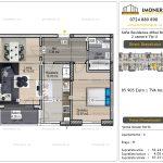 Apartamente de vanzare Vitan - Sofia Residence Mihai Bravu -2 camere tip U-