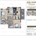 Apartamente de vanzare Vitan - Sofia Residence Mihai Bravu -3 camere tip C--