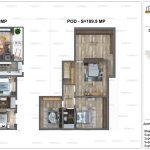 Apartamente de vanzare Dristor Residential 2 -Duplex tip N