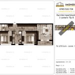 Apartamente de vanzare Pallady - Burnitei Apartments -3 camere tip B-v