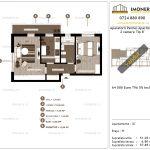 Apartamente de vanzare Aparatorii Patriei Apartments-2 camere tip B'-v