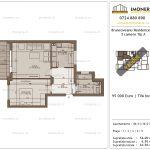 Apartamente de vanzare Brancoveanu Residence 10 -2 camere tip A-v