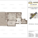 Apartamente de vanzare Brancoveanu Residence 10 -2 camere tip A +-v