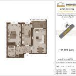 Apartamente de vanzare Decebal Residential Apartments -2 camere tip A2-v