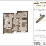 Apartamente de vanzare Decebal Residential Apartments -2 camere tip B1-v
