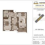 Apartamente de vanzare Decebal Residential Apartments -2 camere tip B2-v