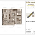 Apartamente de vanzare Dristor Residential 3 -2 camere tip A-v