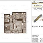 Apartamente de vanzare Dristor Residential 3 -2 camere tip B-v
