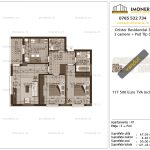 Apartamente de vanzare Dristor Residential 3 -3 camere tip C-v