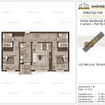Apartamente de vanzare Dristor Residential 3 -3 camere tip D-v