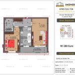 """Apartamente de vanzare Dristor Residential 5 - 2 camere tip A"""""""