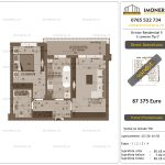 """Apartamente de vanzare Dristor Residential 5 - 2 camere tip C"""""""