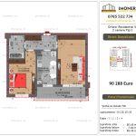 Apartamente de vanzare Dristor Residential 5 - 2 camere tip C